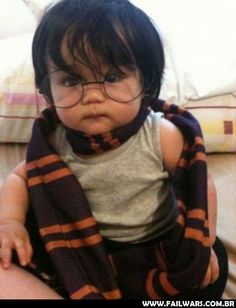 Harry bebê!