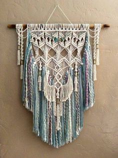 Macrame wall hangings are great