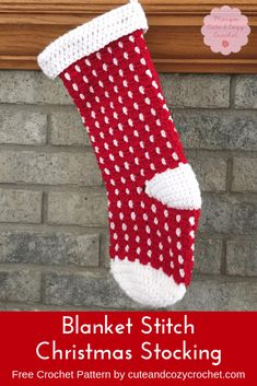 New Crochet Christmas Stocking Pattern Red Hearts Ideas Crochet Christmas Cozy, Crochet Christmas Stocking Pattern, Crochet Stocking, Crochet Ornaments, Crochet Snowflakes, Crochet Socks Pattern, Easy Crochet Patterns, Free Crochet, Irish Crochet