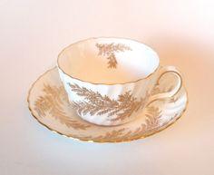Vintage Minton Teacup- Golden Fern - by HouseofLucien, $28.00