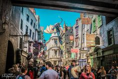 Parques de Orlando Diagon Alley.