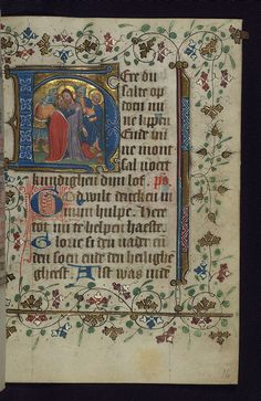 Illuminated manuscript, Book of Hours in Dutch, Arrest of Christ, Walters Manuscript W.188, fol. 16r | Flickr - Photo Sharing!