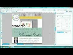 How to Successfully Print & Cut Every Time in Silhouette Studio - YouTube