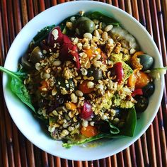 Savory Oat Lunch Bowl