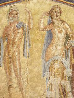 *HERCULANEUM, ITALY ~ Mosaic in Bath Complex in Herculaneum Roman 1st century CE (1) | by mharrsch