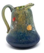 Daum Frères  Jug with cabochons