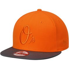 3897a00d051 Men s Baltimore Orioles New Era Orange Heather Gray Poptonal 9FIFTY Adjustable  Hat