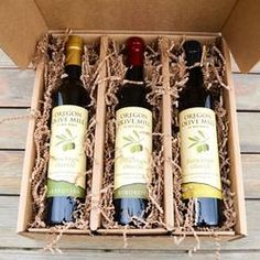 Olive Oil Gift Box from Oregon Olive Mill