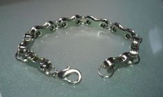 Mens Bicycle Chain Bracelet by BeachBMXDesigns on Etsy