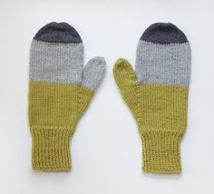 ON SALE... Mittens No. 31 by SarahMcNeil on Etsy Love the colors