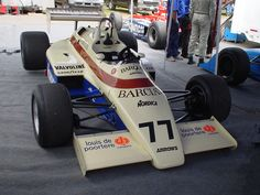 Vintage Formula 1 Arrows car driven by Thierry Boutsen | Flickr - Photo Sharing!