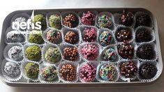 Çikolatalı Pratik Truffle - Nefis Yemek Tarifleri Truffles, Blackberry, Donuts, Fruit, Cake, Desserts, Food, Frost Donuts, Tailgate Desserts