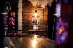 Entspannter Abend in der Bar 🌱🍸  Natur. Natürlich im Raum. Pflanzen. Natürlich ohne Pflege. Möbel. Natürlich nachhaltig. Wall Lights, Lighting, Home Decor, Fine Dining, Home Architect, Nursing Care, Plants, Homemade Home Decor, Appliques