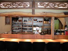 Japanese Bar counter.