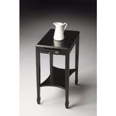 4107111 - Gilbert Black Licorice Side Table
