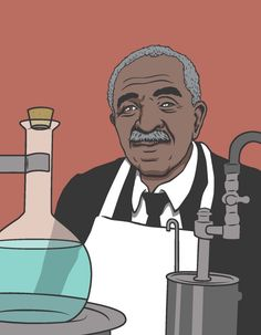 George Washington Carver — the inventor of peanut butter, but also 300 other uses for peanuts.