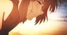 Beyond the boundary-Mirai Sad Anime Girl, Sad Girl, Anime Love, Anime Gifs, Manga Anime, Anime Art, Triste Gif, Anime Crying, Mirai Kuriyama
