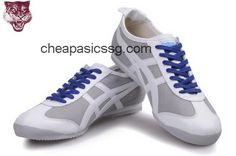 Men Asics Onitsuka Tiger Kanuchi White Grey Blue