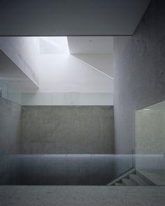 n-architektur: Musical Studies Centre, Santiago de Compostela, Spain Ensamble Studio Minimalist Architecture, Space Architecture, Contemporary Architecture, Architecture Details, Minimalist Design, Shadow Architecture, Concrete Architecture, Amazing Architecture, Aperture Science
