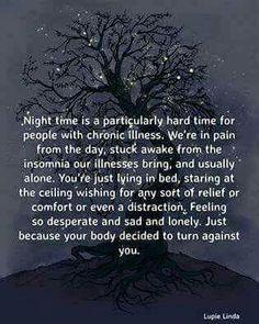 96feb6d9060e3f8ef0c68c16f8d8a7d8 chronic migraines chronic illness too tired to stay awake too much pain to sleep bottom cry,Positive Chronic Illness Memes