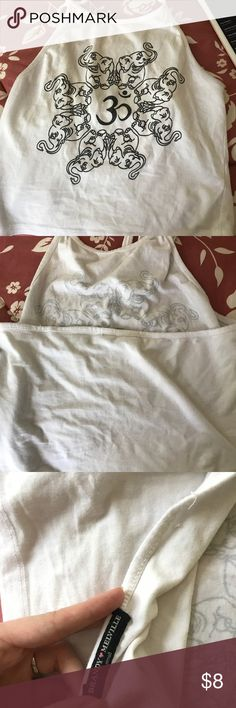 Cute elephant halter crop top In very good condition Brandy Melville Tops Crop Tops