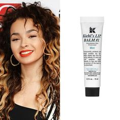 """Kiehl's Lip Balm #1 Mint, £9.50 Dry lips are no good when you want to wear bright and beautiful lipstick on the red carpet. Ella Eyre swears by Kiehl's Lip Balm #1 Mint. """"My lips get really dry and this one tingles and feels like it's actually plumping,"""" she says."""