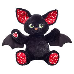 #Halloween doesn't need to be scary. Just warm and fuzzy like our #BoorrificBat! Come find out why in your nearest BAB Workshop or online at BuildABear.com.