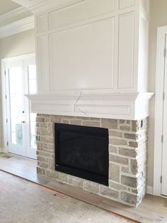 Parade of Homes Brick Fireplace. Much more fabulous appealing farmhouse fireplace suggestions on this webpage. Fireplace Remodel, Fireplace Built Ins, Home, Home Fireplace, New Homes, Farmhouse Fireplace, Kitchen Fireplace, Parade Of Homes, Fireplace