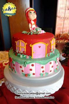 Bolo Moranguinho By Kelly Leite Cakes