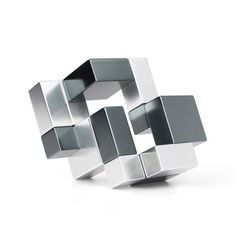 Explore your inner artist with these open-ended sculpting block sets. The simple architectural concept of these cubes is juxtaposed by the ingenious design and unusual look and feel. These challenging art cubes allow you and your children to build true 3-dimensional art structures with clever connecting mechanisms. These piece shine in the world of elite desk toys.