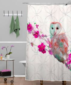 Owl Shower Curtain Are Too Cute - http://appworship.com/owl-shower-curtain-are-too-cute/ : #ShowerCurtains If you want a whimsical look in your bathroom or want to decorate a child's bathroom, owl shower curtain is cute and colorful option. It's also an ideal subject for use simply because it is a design concept of fun for all ages. Depending on the amount of furniture you want to introduce in s...