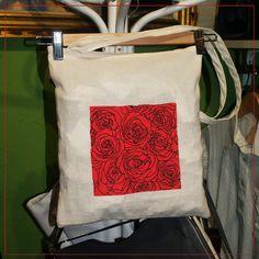 Roses Tote Bag de Mr.Rancio! Illustratie por DaWanda.com