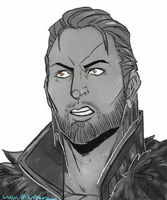 Justice!Anders. Dragon Age: II.