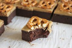 Guinness Brownies With Butterscotch Fudge | 34 Ways To Eat Guinness On St. Patrick's Day
