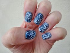 Mari-nail-art: MoYou London, mon partenaire stamping sci-fi