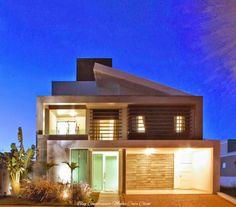 Fachadas de Casas Modernas com Brises!!!