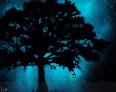 Glow in the Dark Star Ceiling Poster Moon and by StellaMurals