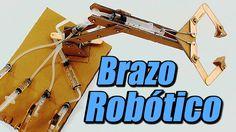 Brazo robótico con sistema hidráulico, cómo se hace