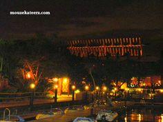Amazin Disney Resorts: Polynesian Resort Harbor at Midnight amazin-disney-resorts