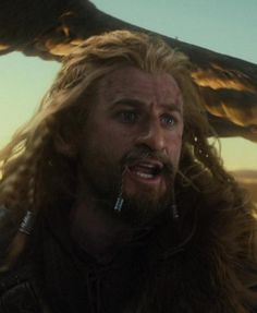 """""""THORIN!"""" Fili's such a sweetie."""