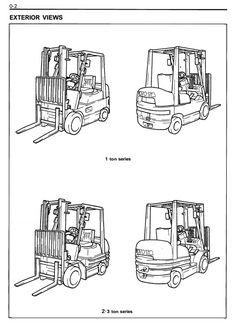 Toyota LPG Forklift Truck 8FG10/15/18/20/25/30, 8FGJ35