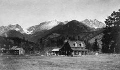 Willard Ashton's Horseshoe Ranch was located immediately west of U.S. 34 where it swings around Horseshoe Park. In 1908, it would become the site of