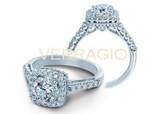 Classic-926CU7 engagement ring from the new Classic Collection. Learn more at http://www.verragio.com