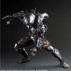 SQUARE ENIX PREDATOR - PLAY ARTS KAI PREDATOR - MOVIE VERSION ACTION FIGURE