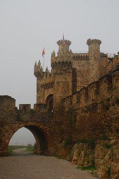 Templar Castle of Ponferrada Spain. Built in the 12 the century.