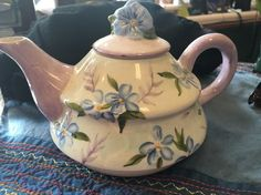 Vintage Hand Painted Tea Pot
