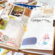 Full spread. I was recovering from a stomach flu that day and sat out in the warm sun while working on this spread. I miss listening to exotic birds and people talking loudly in Spanish. . . . . . . . #coffee#vegan#travelwriter#traveller#traveling#travelersnotebookinserts#travelersnotebookmalaysia#書く #マスキングテープ #旅行記 #旅日記 #旅ノート #スケジュール帳  #カフェ #コーヒータイム #文具#トラベラーズカンパニー #トラベラーズノートレギュラーサイズ