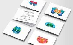 Resultado de imagen para diseño tarjetas de presentacion psicologia