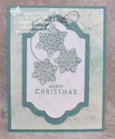 The Snow Flurry Bundle from Stampin' Up! is 20% off today only from Stampin' Up!