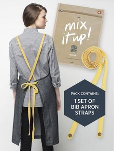 mix it up apron straps yellow cargo crew staff uniform shop cao office agoogle moscowa